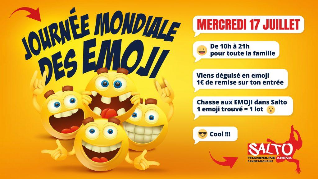 Journée mondiale des emoji - Salto Mougins