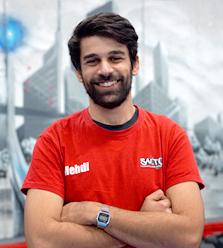 Medhi : coach sportif Salto Trampoline Arena