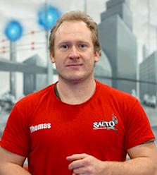 Thomas : coach sportif Salto Trampoline Arena